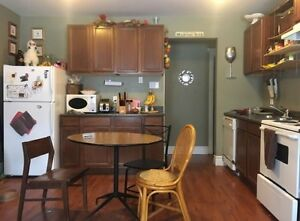 Apartment for sublet May - Sept with option to renew.