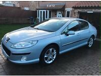 PEUGEOT 407 2.0 hdi 6 speed zenith model Leathers parking sensors swaps