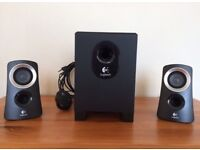 Logitech 2.1 Speakers with Sub Woofer