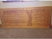 3 x Louis pine doors
