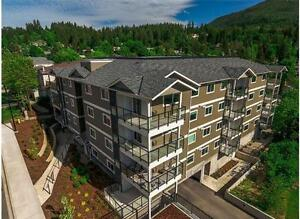 New Executive Top Floor Condo - Blocks from Shuswap w/ Views