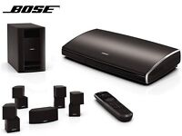 Bose 535 jewel cubes with wall stands and full assesories