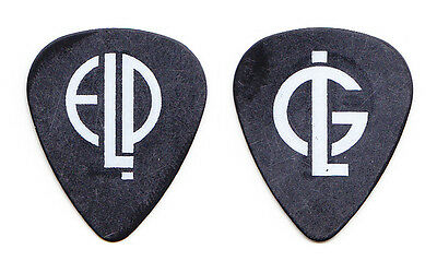Emerson, Lake & Palmer Greg Lake Signature Black Guitar Pick - 2010 Tour