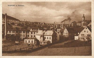 Weipert, Erzgebirge, alte Ansichtskarte von 1930, Böhmen, Sudetenland