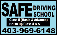 LEARN WITH SAFE  DRIVING SCHOOL BEFORE WINTER