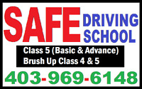CALL SAFE DRIVING SCHOOL FOR BEST PRICE