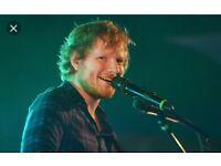Ed Sheeran tickets. 22 June Cardiff