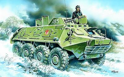 ICM 72911 BTR 60PB Soviet Army Armored Personnel Carrier NEU OVP-