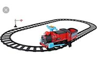 Ride on train with track and trailer