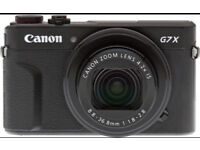 Looking for Canon G7X mark ii