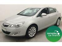 £138.07 PER MONTH SILVER 2010 VAUXHALL ASTRA 1.6 SE 5 DOOR PETROL AUTOMATIC