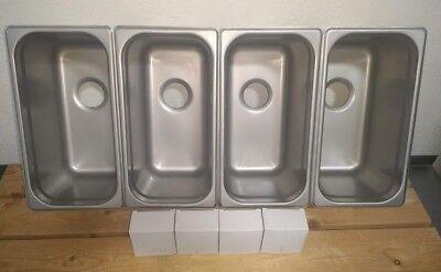 Concession 3 4 Compartment Sink Value Set 1 Hand Wash M-basins Drains