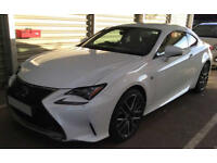 Lexus RC 200t FROM £119 PER WEEK!