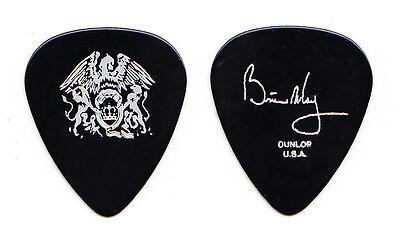 Queen Brian May Signature Black Guitar Pick - 2005 Tour