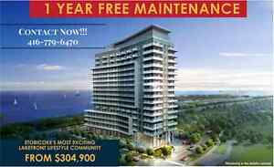 CONDO WITH BREATHTAKING VIEW STARTING AT $304,900!!! LAKESHORE!!
