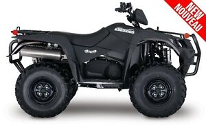 2017 Suzuki king quad 750 noir mat