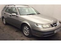 SAAB 9-5 2.2TiD LINEAR ESTATE 2005>12 MONTHS MOT..SERVICE HISTORY..LOOKS+DRIVES