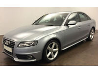 Audi A4 S Line FROM £31 PER WEEK!