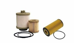 Ford Powerstroke 6.0L Diesel Oil Filter Fuel Filter 03-07 FL2016 FD4604 FD4616