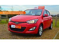 """ FINANCE AVAILABLE "" 2012 (62) Hyundai i20 1.2 Petrol Active"""