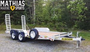 2017 GATOR EQUIPEMENT PROFIL BAS GALVANISEE 82 X 16 9850 LBS