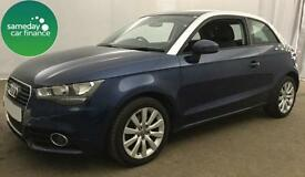£159.26 PER MONTH BLUE 2012 AUDI A1 1.6 SPORT 3 DOOR DIESEL MANUAL