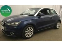 £213.64 PER MONTH BLUE 2012 AUDI A1 1.6 SPORT 3 DOOR DIESEL MANUAL