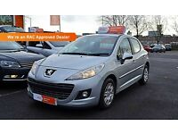 2011 (11) Peugeot 207 1.4 Petrol | Yes Cars 4 u Ltd