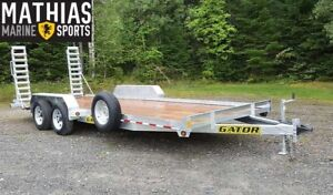 2017 GATOR EQUIPEMENT PROFIL BAS GALVANISEE 82 X 18 9850 LBS