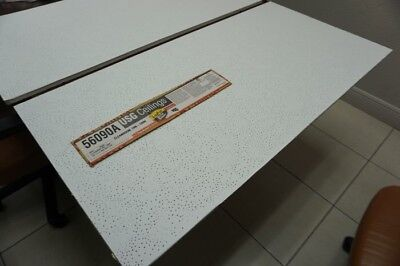 Usg 56090a Clean Room Acoustical Panels Ceiling Tile 2x4x58 White New