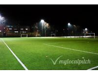 "FOOTIE PLAYER needed for ""occasional games"". 7aside, Highbury-Islington on TUESDAYS, kick-off 6pm"
