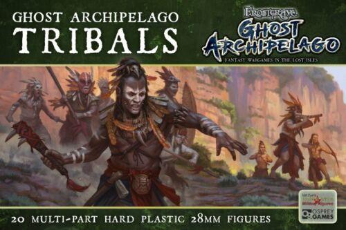 Frostgrave Tribals 1 sprue 5 models 28mm Ghost Archipelago
