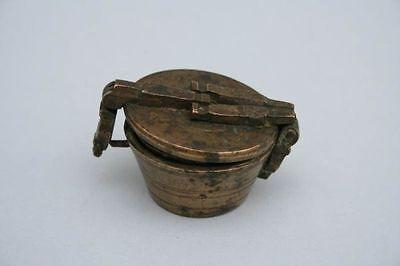 Satz Apothekergewichte , Gewichte 18. Jahrhundert