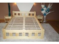 BNIB SOLID PINE DOUBLE BED CAN DELIVER