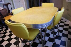 1950 chrome dinette kitchen set
