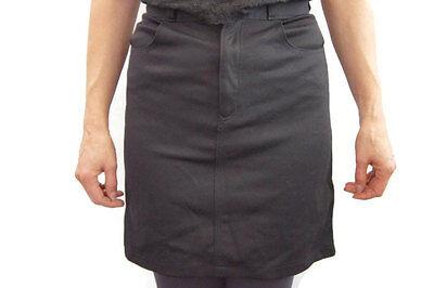 Vintage 90s Fendi Little Black skirt Mini Skirt High fashion Designer skirt