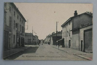 Belleville-sur-Saone - Les quatre rues de la Croisée