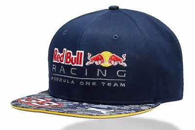 Puma Red Bull F1 2016 Verstappen Flat Cap Hat Official Racing Team RRP £65  for sale  Shipping to United States