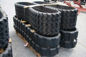 OEM skidsteer and mini hoe rubber tracks