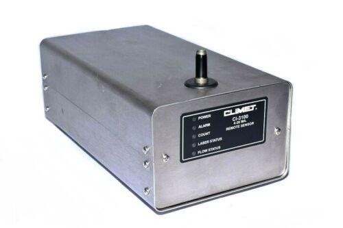 CLIMET CI-3100 Particle Counter 4-20 mA Remote Sensor CI-3100-12-0-4-4