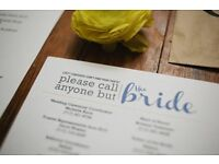 Wedding and Proposal Planner £7/hr