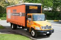 GET 5 GUARANTEES FROM FERGUSON MOVING & STORAGE