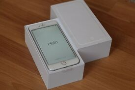 Apple iPhone 6 Plus - 16GB - White and Silver (O2/Tesco/GiffGaff) Smartphone