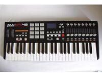 Akai MPK49 midi keyboard / controller
