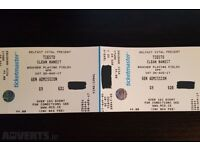 Tiesto tickets Belfast for sale!