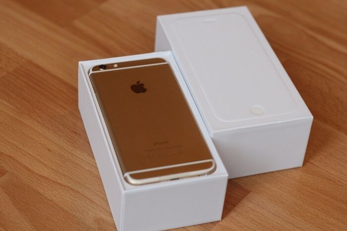 iphone 6 white and gold. apple iphone 6 - 16gb white and gold (vodafone/lebara) smartphone iphone