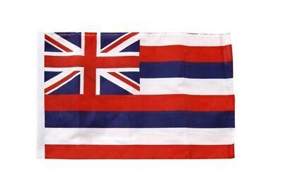 USA Hawaii Banner hawaiianische Fahnen Flaggen 30x45cm