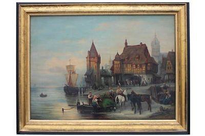 Meyer von Bremen - Auswanderer ?  80 X 102,5 cm