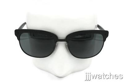 34d2a76bc00d New Burberry TAILORING Matte Black Metal Gray Sunglasses BE4232 34648G 56  $280