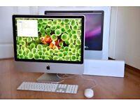 "2.8Ghz 24"" APPLE iMac Desktop 4GB 1TB HD NATIVE MASSIVE MICROSOFT OFFICE SUITE VECTORWORKS SIBELIUS"